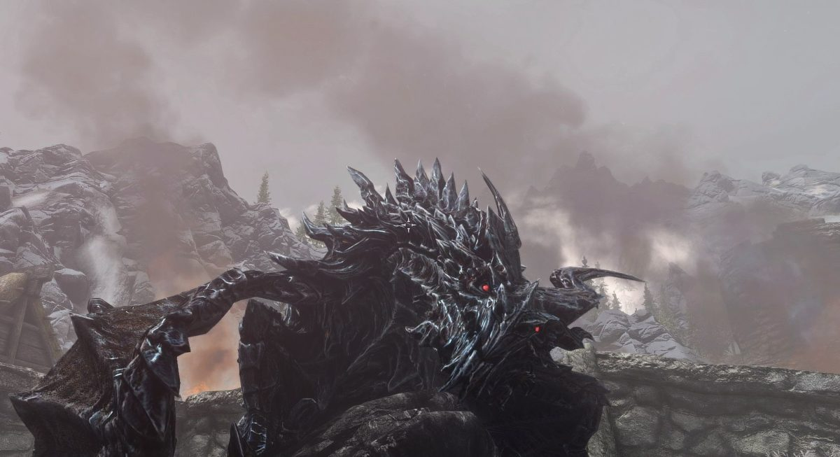 4k plus for Parthurnax and Alduin and All Dragons