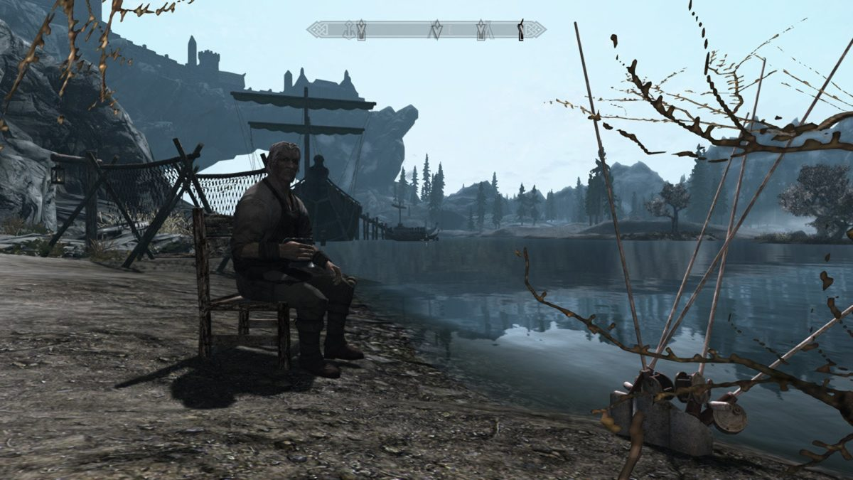 Fishing In Skyrim