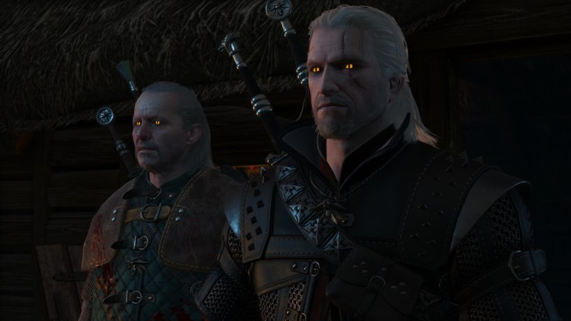 Glowing Witcher Eyes