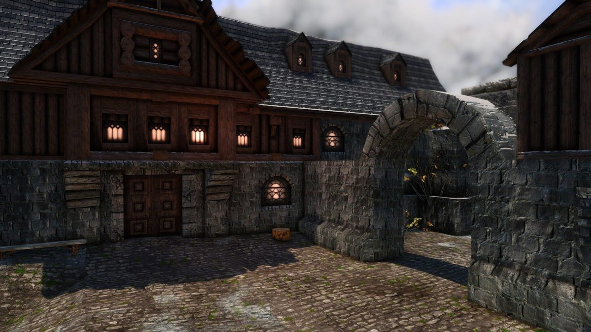 Photoreal Windhelm by CleverCharff