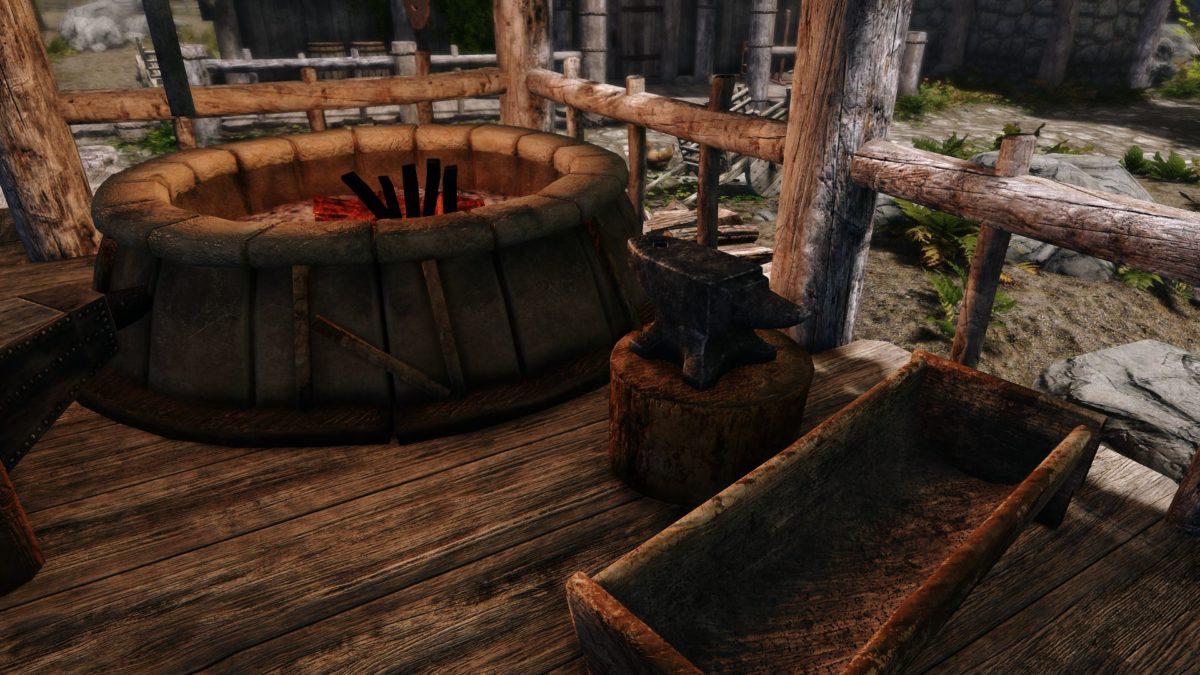 Skyrim 3D Blacksmith