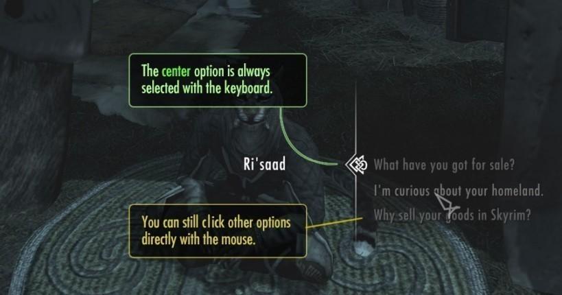 Better Dialogue Controls