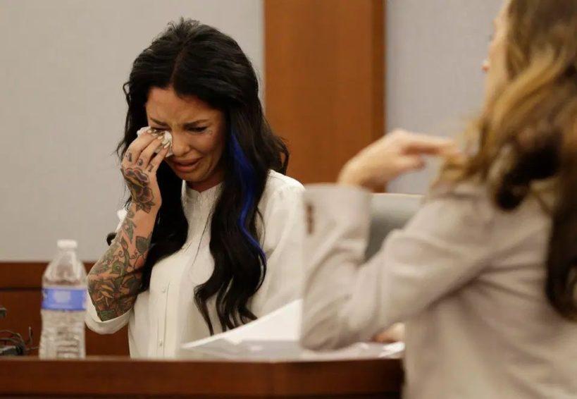 Кристи Мак в суде