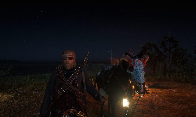 Red Dead Online - лагерь