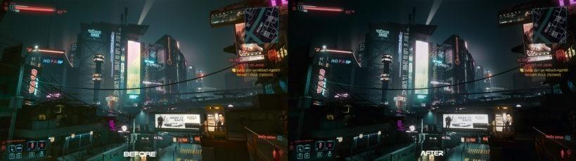 Cyberrunner – a Bladerunner like Reshade