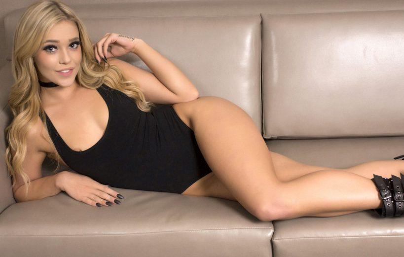 Кали Роуз - одна из самых красивых порноактрис, которая растёт в ширину